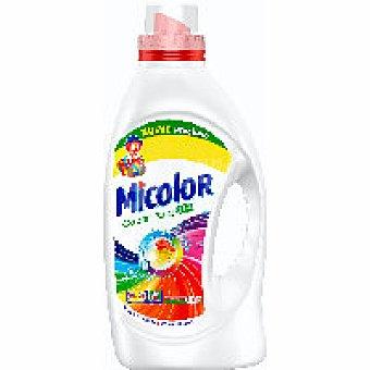 Micolor Detergente líquido Botella 18+4 dosis