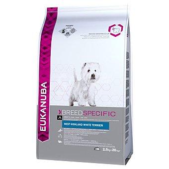 "Eukanuba Oferta de prueba: Eukanuba pienso para perros de 2 a 3 kg Breed West Highland White Terrier ""westy"" 2,5 kg 2,5 kg"