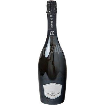 Club del gourmet Champagne cuvée brut zero dossage brut Botella 75 cl