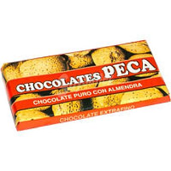 CHOCOLATES PECA Chocolate con almendra puro Tableta 150 g