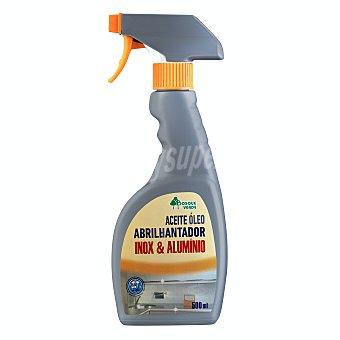 Bosque Verde Limpiador acero inoxidable y aluminio pistola (aceite abrillantador) Botella 500 ml