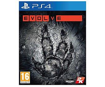 2K Evolve Ps4