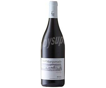 FINCA DEL MARQUESADO Vino tinto crianza con denominación de origen Rioja botella de 75 centilitros