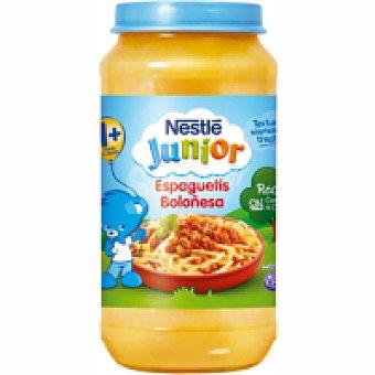 Junior Nestlé Tarrito de espaguetti a la boloñesa Tarro 400 g