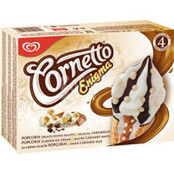 Frigo Cornetto Cornetto enigma popcorn pack 4x90 ml