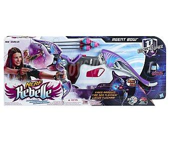 NERF REBELLE Arco Lanzador de Dardos Modelo Agent Bow 1 Unidad
