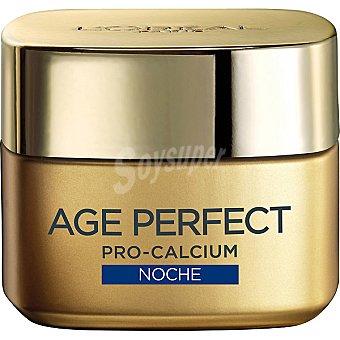 Age Perfect L'Oréal Paris Crema antiarrugas Age Re-Perfect Pro-calcium noche Tarro 50 ml