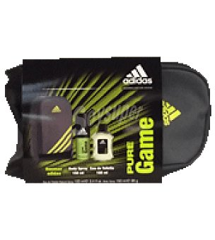 Adidas Estuche Colonia Spray 100ml + Body Spray 150ml + Neceser Pure Game 1 ud