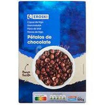 Eroski Cereales pétalos de trigo de chocolate eroski Caja 500 g