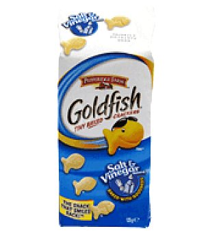Pepperidge Farm Snack horneado con sal y vinagre Goldfish 125 g
