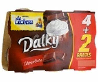 La Lechera Nestlé Copa de Chocolate y Nata Dalky Pack 4x100 gr