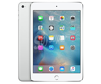 "APPLE iPad Mini 4 Apple ipad mini 4 plata 16GB Wi-Fi + 4G reacondicionado (puesto a nuevo) pantalla 7,9"", Chip A8, iOS 9. 4g"