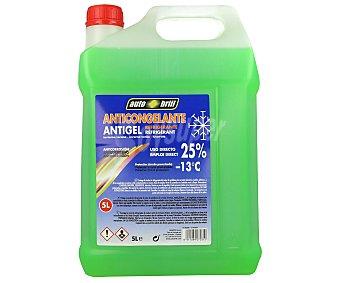 AUTOBRILL Líquido anticongelante, refrigerante, con temperatura mínima de -13º C 5 litros