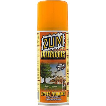 Zum Insecticida volador concentrado de exteriores para moscas y mosquitos Spray 400 ml