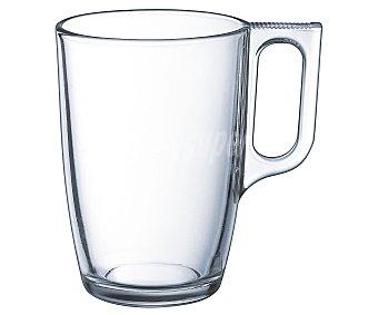 Luminarc Mug o taza alta con asa, con capacidad de 32 centilitros fabricada en vidrio transparente 1 unidad