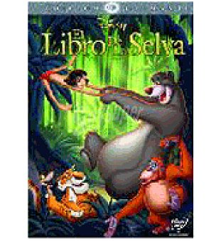 Disney El libro de la selva ed.d.dvd El libro de la selva ed.d.dvd