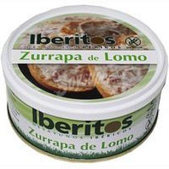 Iberitos Crema de zurrapa de lomo Lata 250 g