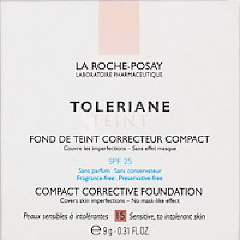 La Roche-Posay Toleriane compacto 15 D Pack 9