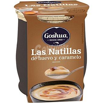 Goshua Natillas con caramelo Tarrina 140 g
