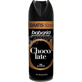 Babaria Desodorante For Men Chocolate Spray 150 ml