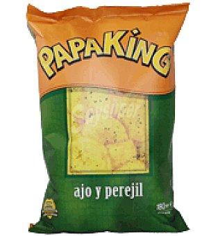 Papaking Patatas fritas artesanas al ajillo 300 g