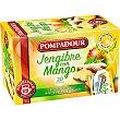Infusión jengibre con mango caja 20 sobres  Pompadour