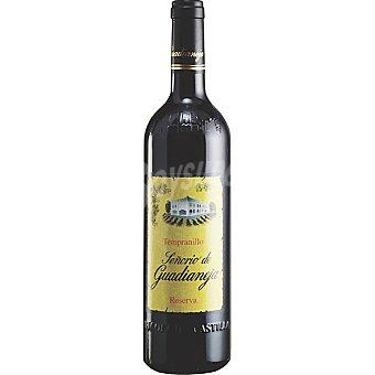 Señorío de Guadianeja Vino tinto reserva de Castilla-La Mancha Botella 75 cl