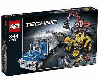 LEGO Juego de Construcciones Máquinas de Construcción Technics, Modelo 42023 1 Unidad