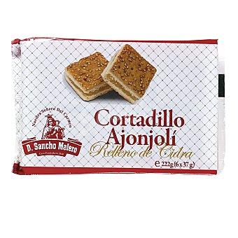 Don Sancho Melero Cortadillo ajonjoli relleno de cidra Paquete 222 gr