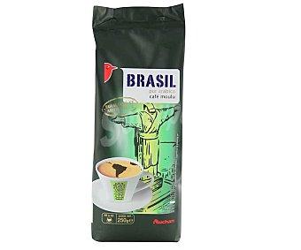 Auchan Café molido de tueste natural de Brasil 250 g