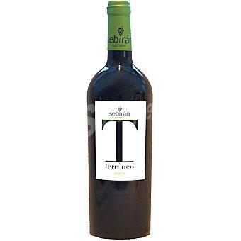 Sebiran T Vino tinto joven D.O. Utiel Requena Botella 75 cl