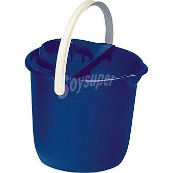 Araven Cubo con escurridor redondo azul 12 l envase 1 unidad envase 1 unidad