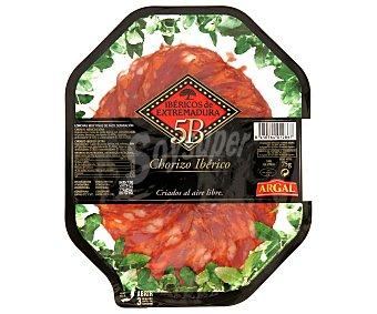 Argal Plato de Chorizo Ibérico de Extremadura Estirpe Negra 100 Gramos