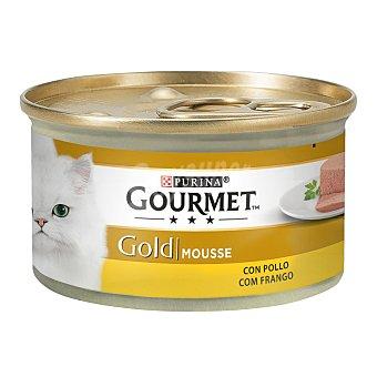 Purina Gourmet Comida para gatos húmeda mousse de pollo Tarrina 85 g