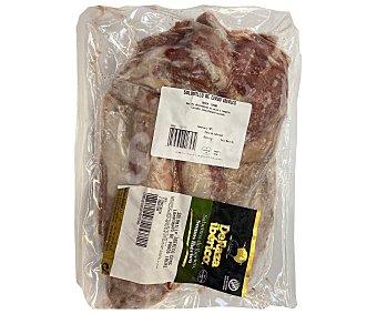 DeRaza Ibérico Solomillo de cerdo ibérico, congelado y envasado al vacio reraza Ibérico 1.100 gramos aproximados