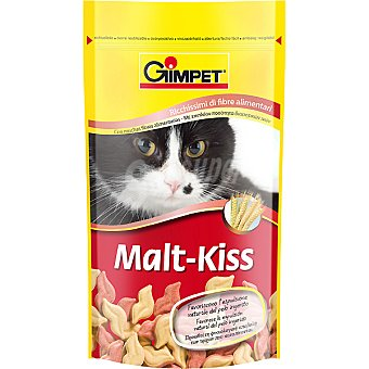 GIMPET MALT-KISS Snacks de gato con malta Paquete 50 g