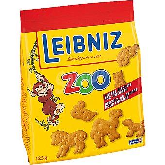 BAHLSEN Leibniz Zoo Galletas de mantequilla con formas de animales Bolsa 125 g