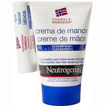 Neutrogena Crema de manos-labial Pack 50