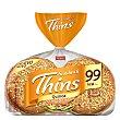 Pan sandwich Thins con quinoa 8 ud Silueta Bimbo