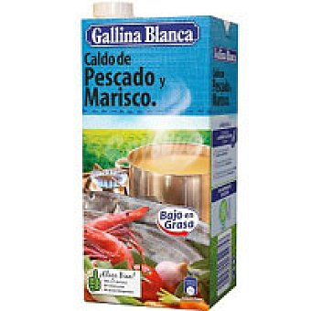 Gallina Blanca Caldo Pescado Brik 1L+ 10%
