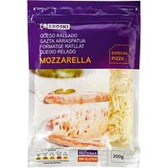 Eroski Queso rallado Mozzarella Bolsa 200 g