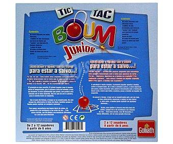 GOLIATH Juego de Mesa Tic Tac Boum Junior, de 2 a 12 Jugadores 1 Unidad