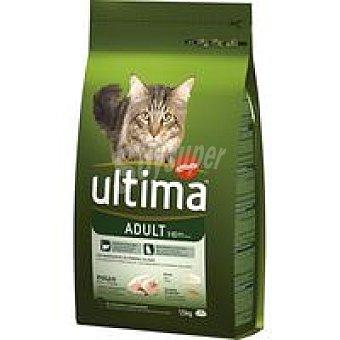 Ultima Affinity Alimento de pollo-arroz para gato adulto Saco 1,5 kg