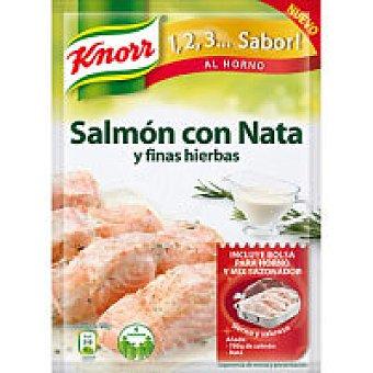 Knorr Salmón a la nata-finas hierbas Sobre 28 g