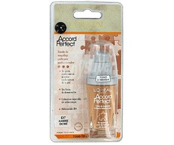 L'Oréal Fondo de Maquillaje D7 Ambre Dore Accordf Perfect 1u