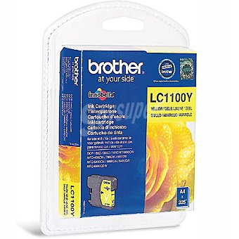 BROTHER LC1100Y Cartucho de tinta color amarillo