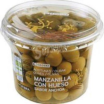 Eroski Aceitunas sabor anchoa 300 g