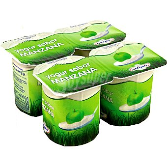 Celgan Yogur sabor manzana pack 4 unds. 125 g Pack 4 unds. 125 g