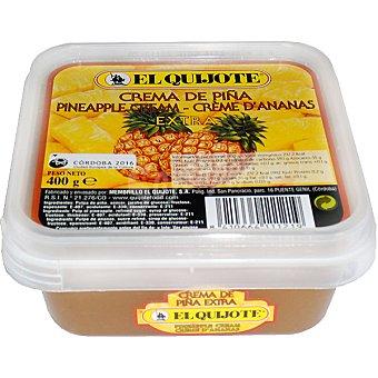 El Quijote Crema de piña Tarrina 400 g