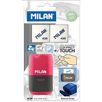 MILAN Afilaborra Compact touch + 2 gomas 430